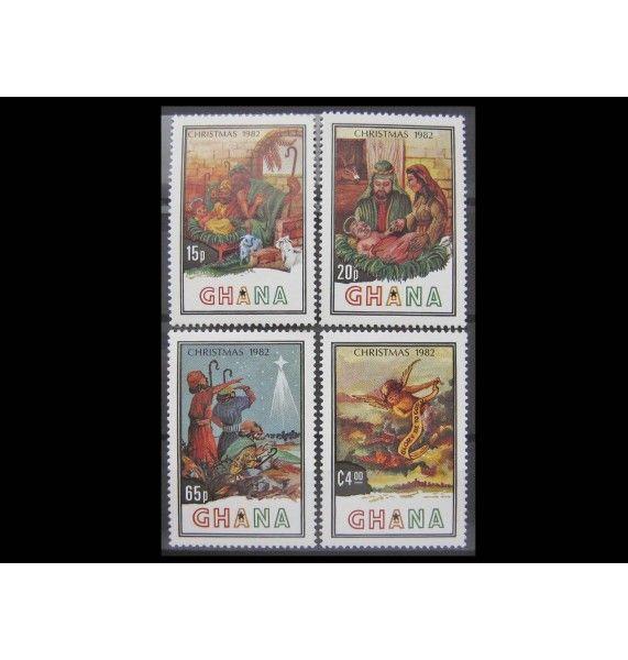 """Гана 1982 г. """"Рождество"""""""