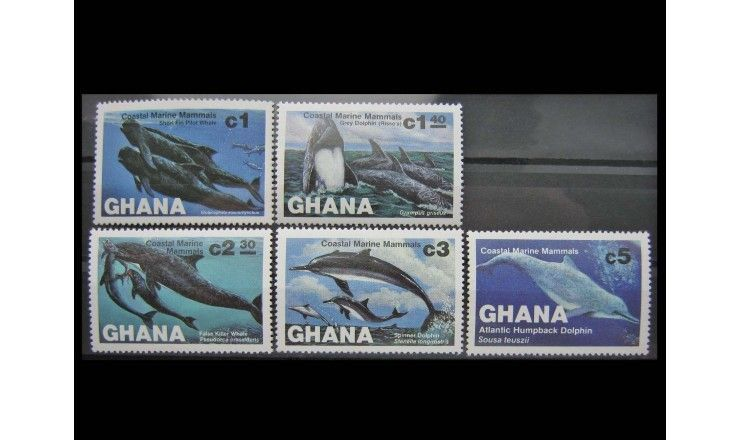 "Гана 1983 г. ""Киты"""