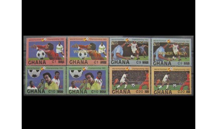 """Гана 1984 г. """"Чемпионат мира по футболу"""""""