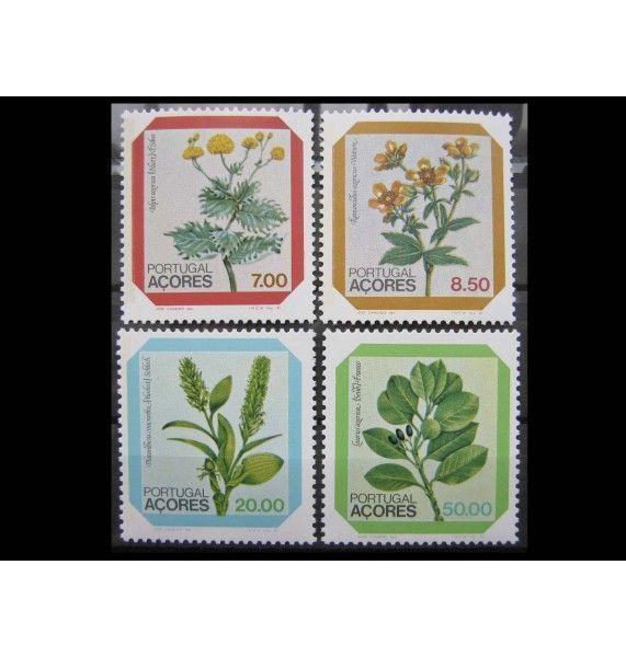 "Азорские острова 1981 г. ""Цветы"""