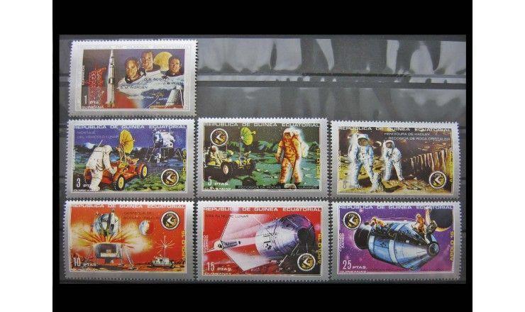 """Экваториальная Гвинея 1972 г. """"Аполлон-15"""""""