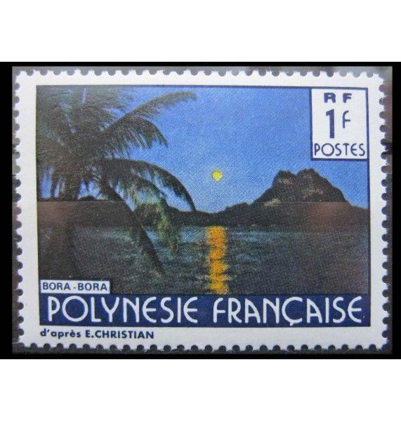 """Французская Полинезия 1979 г. """"Пейзажи"""""""