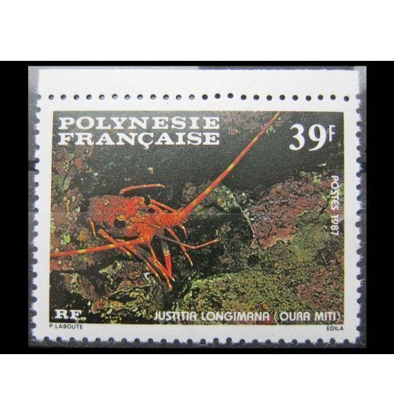 """Французская Полинезия 1987 г. """"Ракообразные"""""""