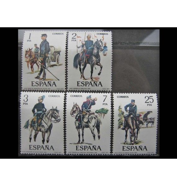 """Испания 1977 г. """"Военная форма"""""""