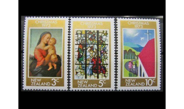 """Новая Зеландия 1973 г. """"Рождество"""""""