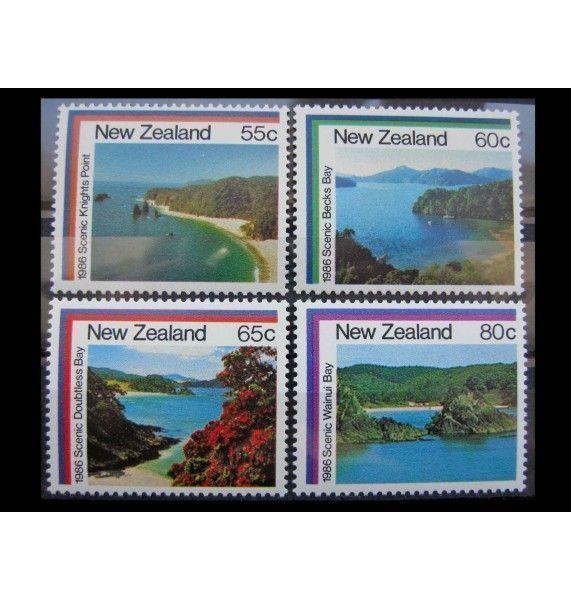 """Новая Зеландия 1986 г. """"Ландшафты"""""""