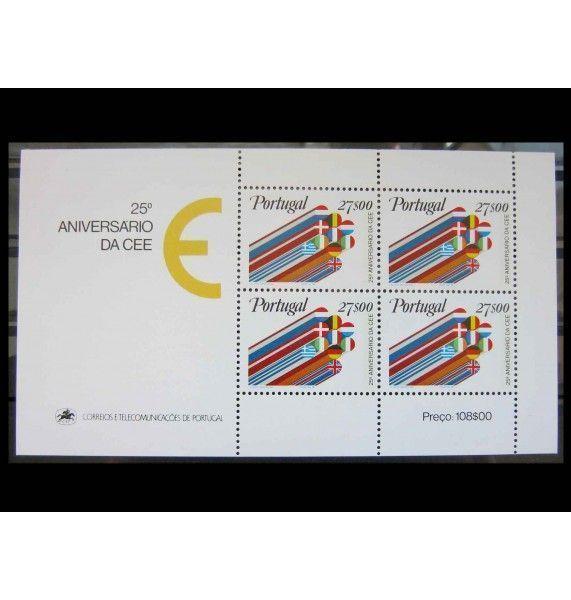 """Португалия 1982 г. """"25 лет Европейскому экономическому сообществу"""""""