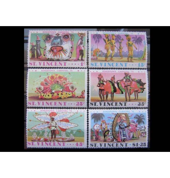 """Сент-Винсент и Гренадины 1975 г. """"Карнавал в Кингстауне"""""""