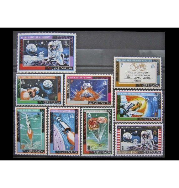 "Гренада 1969 г. ""Аполлон-11"""