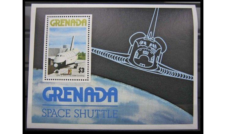 """Гренада 1978 г. """"Космический корабль «Спейс шаттл»"""""""