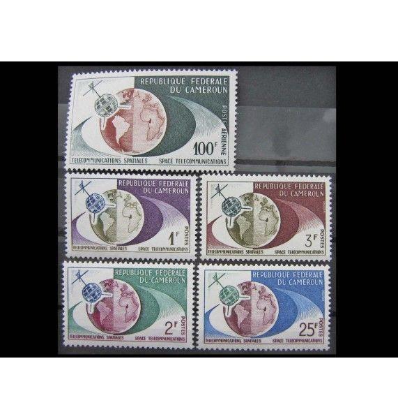 "Камерун 1963 г. ""Спутник Телстар"""