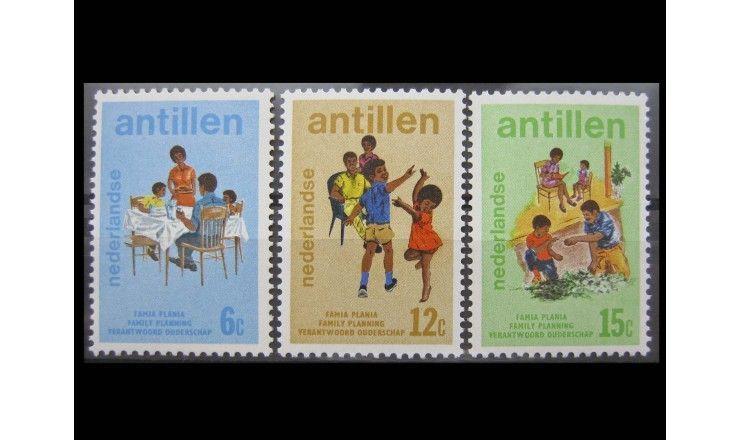"""Нидерландские Антиллы 1974 г. """"Планирование семьи"""""""