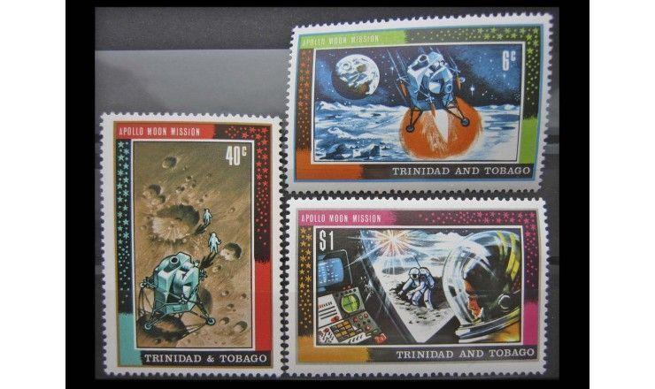 """Тринидад и Тобаго 1969 г. """"Аполлон-11"""""""