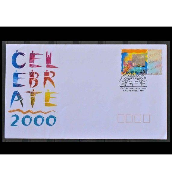 "Австралия 1999 г. ""Новый год 2000 "" FDC"