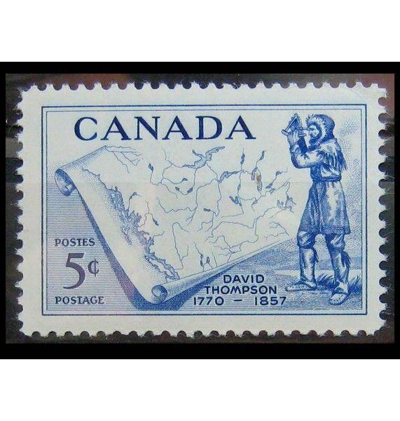 """Канада 1957 г. """"Д. Томпсон"""""""