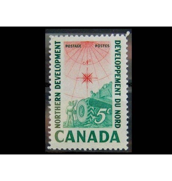 "Канада 1961 г. ""Развитие канадского севера"""