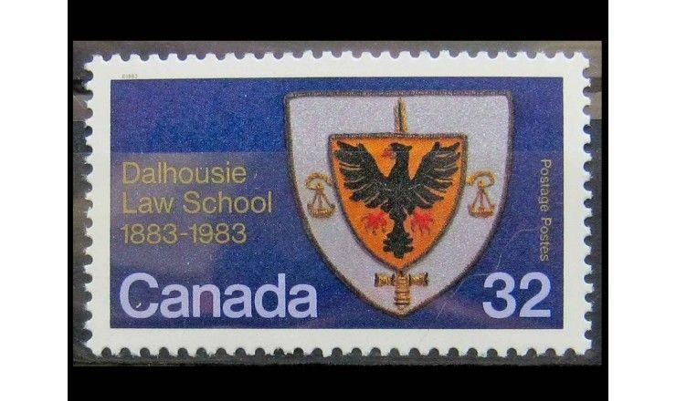 "Канада 1983 г. ""Герб юридического Университета Дэлхаузи"""