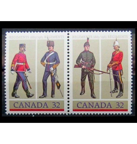 """Канада 1983 г. """"Военная форма"""""""