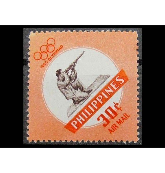 """Филиппины 1960 г. """"Летние Олимпийские игры, Рим"""""""