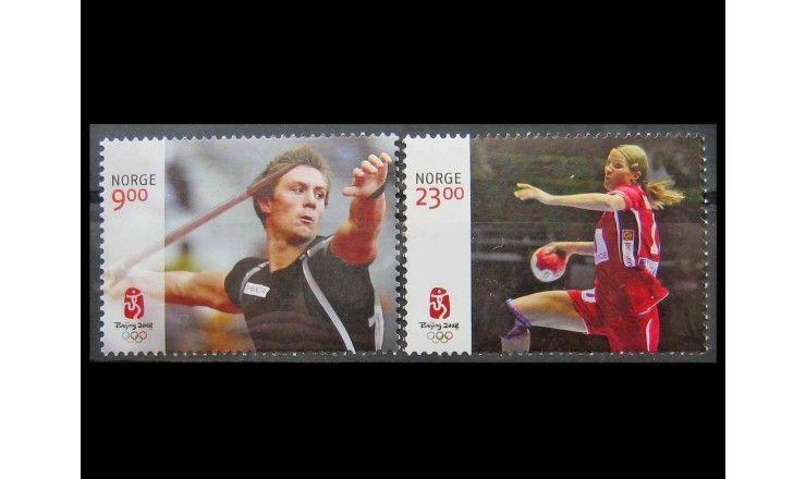 """Норвегия 2008 г. """"Летние Олимпийские игры, Пекин"""""""