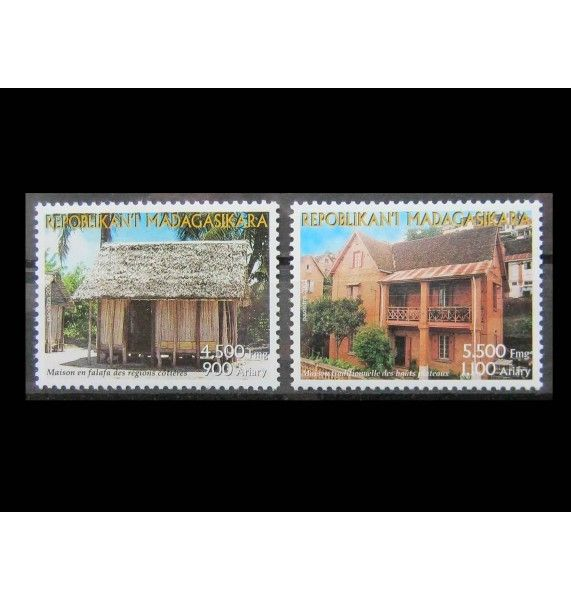"""Мадагаскар 2003 г. """"Архитектура"""""""