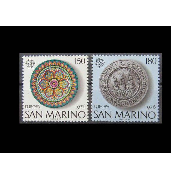 "Сан-Марино 1976 г. ""Европа: Ремесла"""