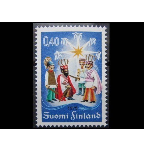 "Финляндия 1975 г. ""Рождество"""