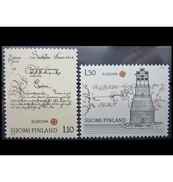 """Финляндия 1979 г. """"История почты и связи"""""""
