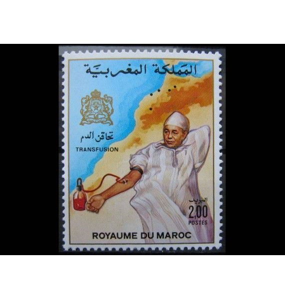 "Марокко 1987 г. ""Переливание крови"""