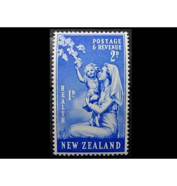 """Новая Зеландия 1949 г. """"Детская медсестра с ребенком"""""""