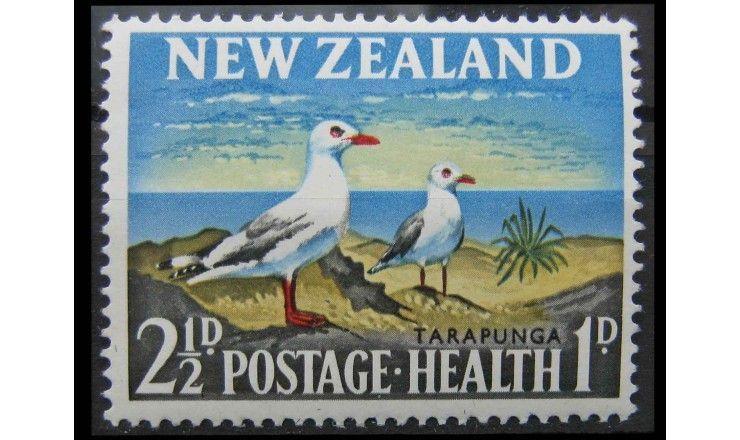 "Новая Зеландия 1964 г. ""Серебристая чайка"""