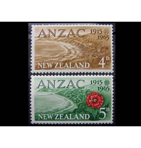 """Новая Зеландия 1965 г. """"50 лет высадки ANZAC в Галлиполи"""""""