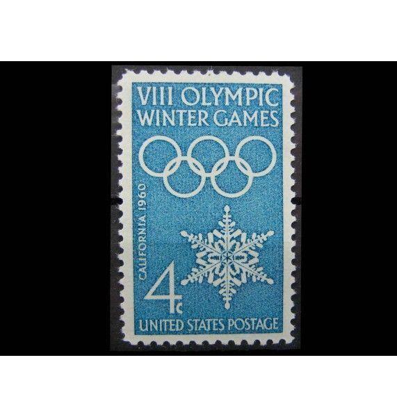 """США 1960 г. """"Зимние Олимпийские игры, Скво-Вэлли"""""""