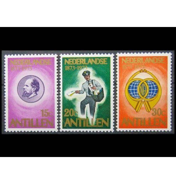 """Нидерландские Антиллы 1973 г. """"Столетие первых марок Нидерландских Антильских островов"""""""