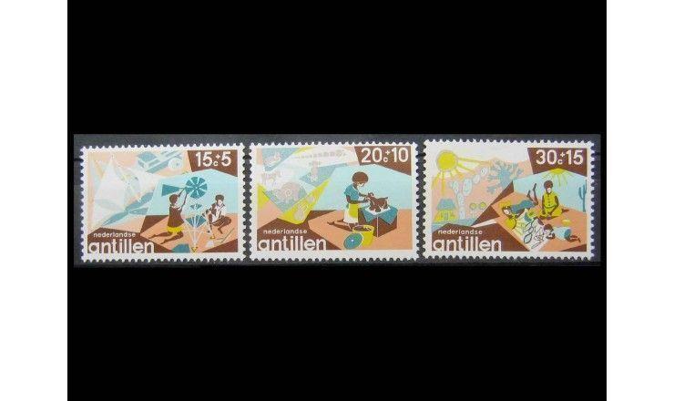 """Нидерландские Антиллы 1975 г. """"Досуг молодежи"""""""
