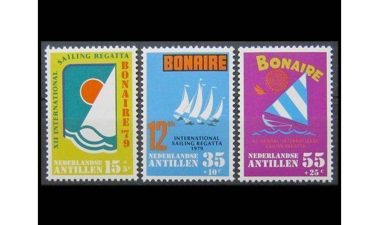 """Нидерландские Антиллы 1979 г. """"12-я Международная парусная регата, Бонэйр"""""""