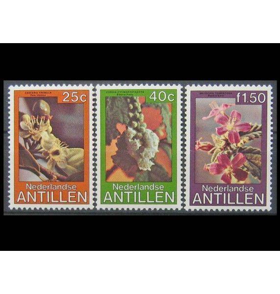 """Нидерландские Антиллы 1979 г. """"Цветы"""""""