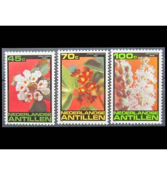 """Нидерландские Антиллы 1981 г. """"Цветы"""""""