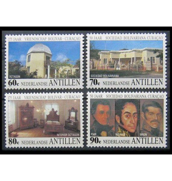 """Нидерландские Антиллы 1987 г. """"Боливар и Кюрасао"""""""