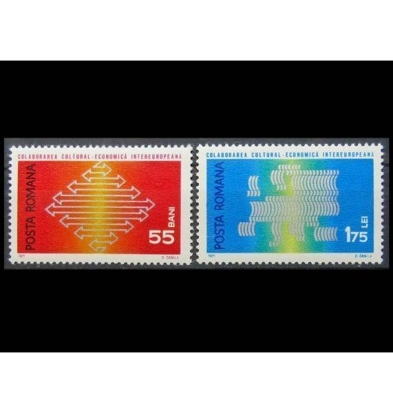 "Румыния 1971 г. ""InterEuropa"""