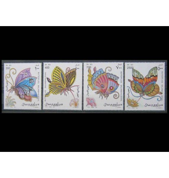 """Сомали 1997 г. """"Бабочки"""""""