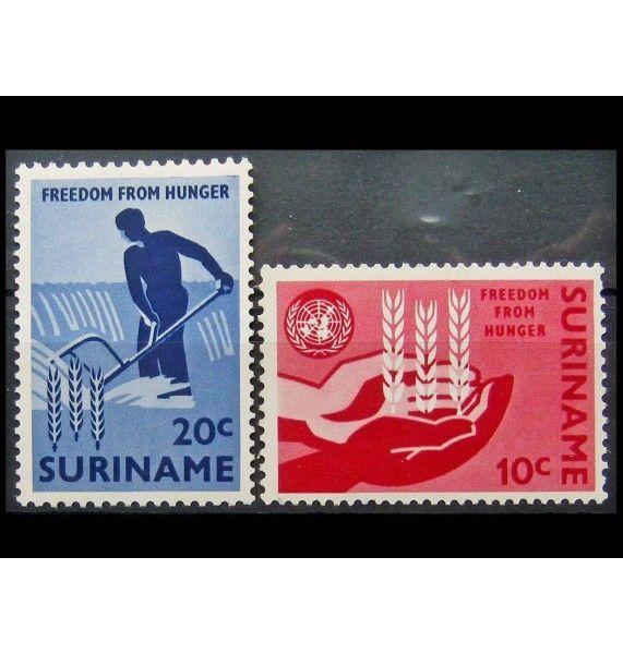"""Суринам 1963 г. """"Кампания «Свобода от голода»"""