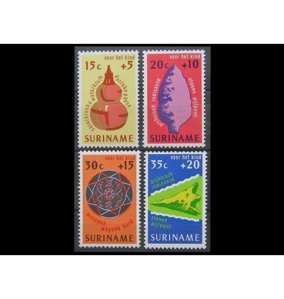 """Суринам 1975 г. """"Благополучие детей"""""""