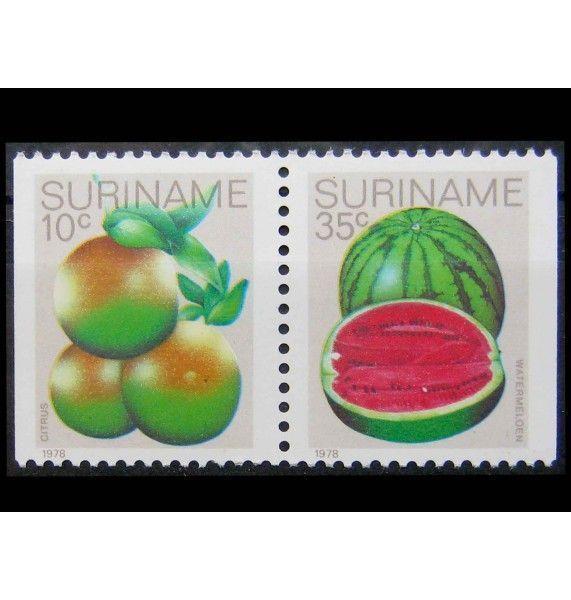 """Суринам 1978 г. """"Фрукты"""""""