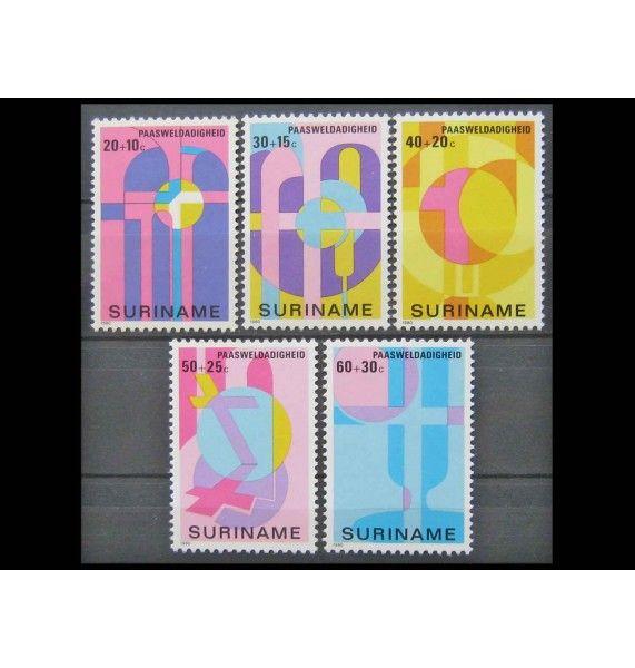 """Суринам 1980 г. """"Пасха"""""""