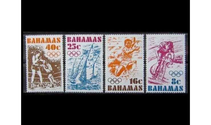 """Багамские острова 1976 г. """"Летние Олимпийские игры, Монреаль"""""""