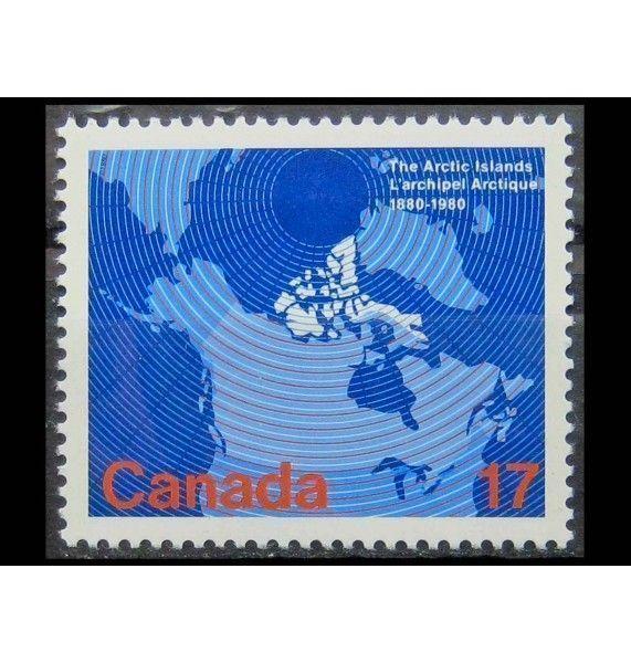 """Канада 1980 г. """"Сто лет присоединению арктических островов"""""""