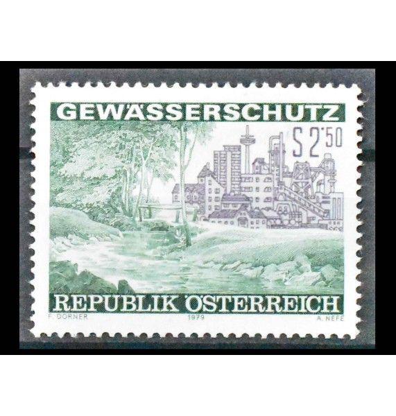 """Австрия 1979 г. """"Охрана водоемов"""""""