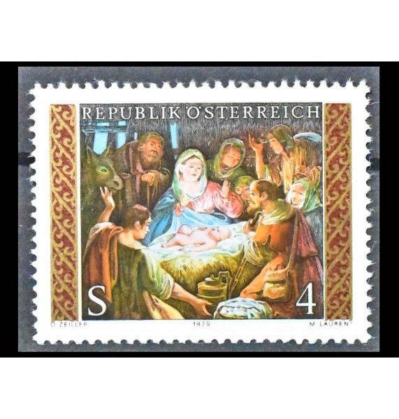 "Австрия 1979 г. ""Рождество"""