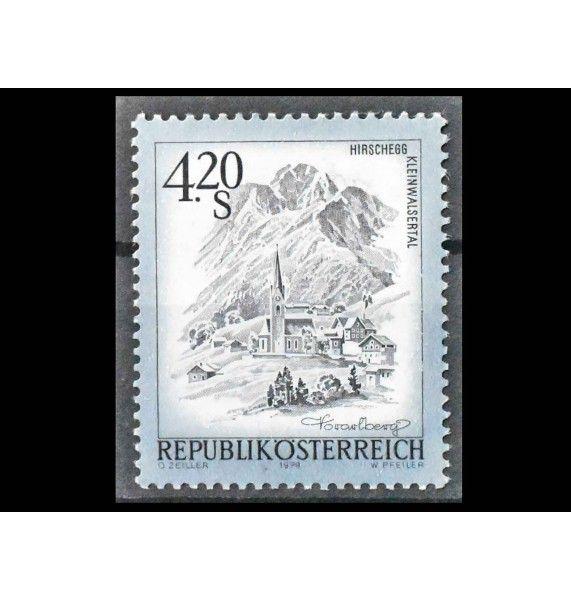 "Австрия 1979 г. ""Стандартная марка: Красивая Австрия"""